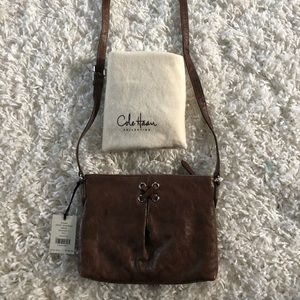 Cole Haan Leather Cross Body